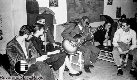 Bermain Gitar Seperti Reverend Gary Davis